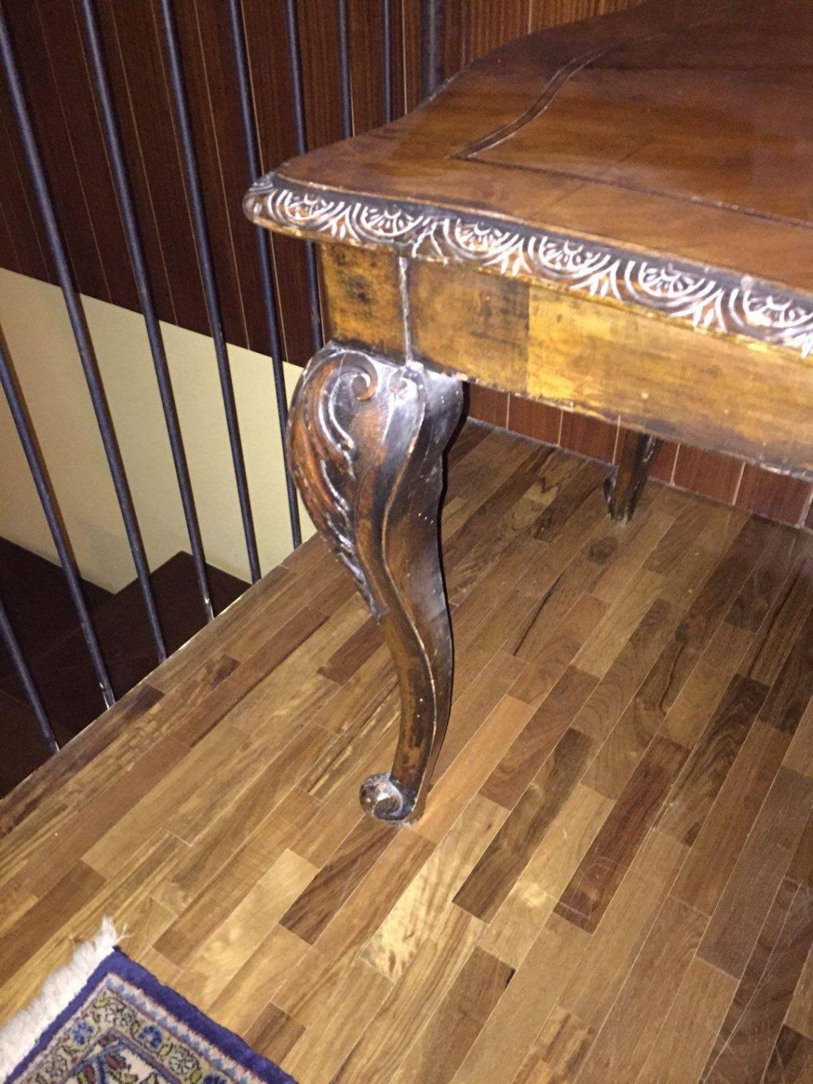 Camera Letto Matrimoniale Stile Chippendale.Vendo Tavolo Stile Chippendale Lastminuteaffari