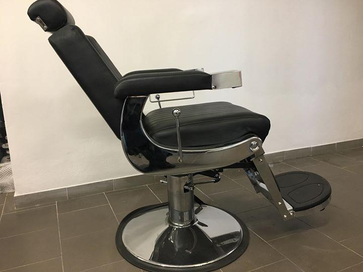 Poltrona da barbiere