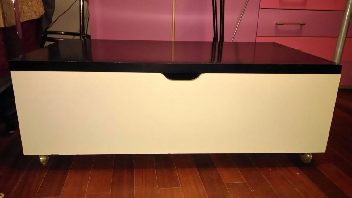 Letto ikea con cassettoni for Ikea letto flaxa