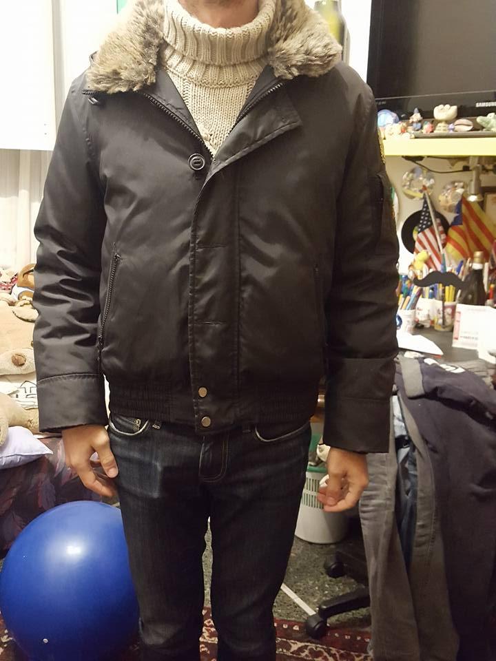big sale 12e24 62927 Giacca invernale original marines per ragazzo con rifinitura ...
